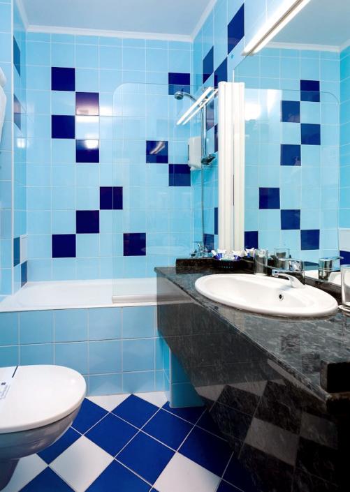 Туалетная комната номера Стандарт в отеле 1001 ночь