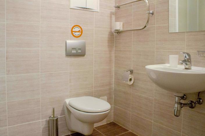 Туалетная комната Блочного номера отеля 28