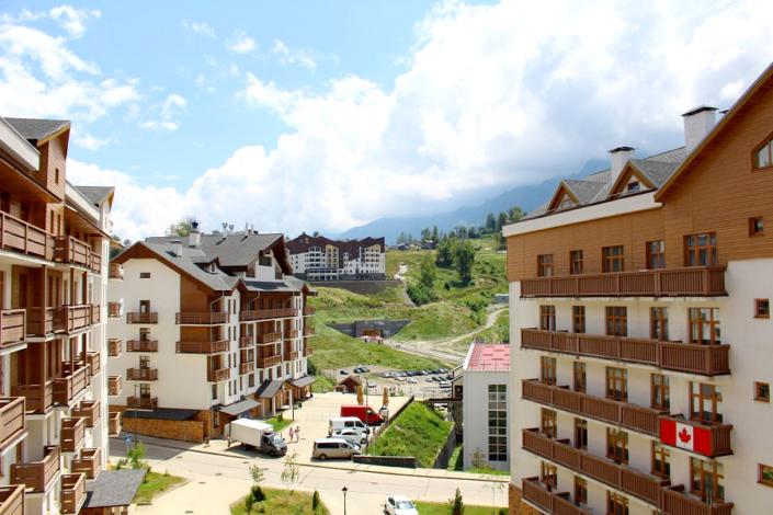 Вид с балкона Стандартного номера отеля 28