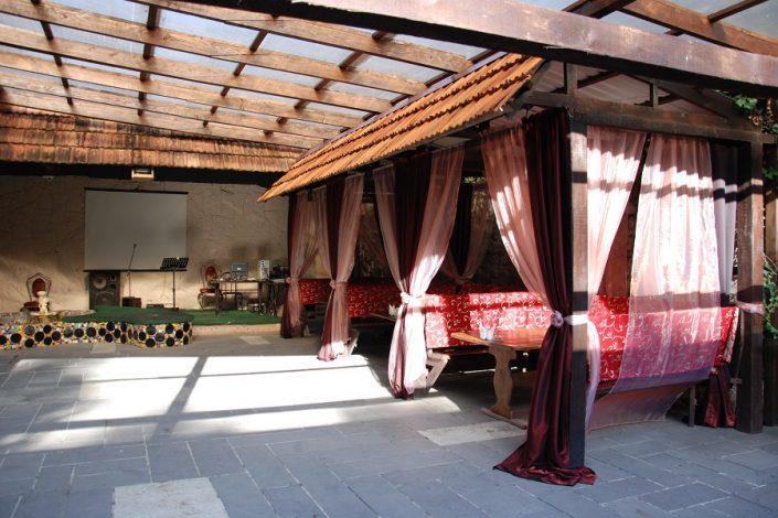 Ресторан в Главном корпусе отеля Абаата