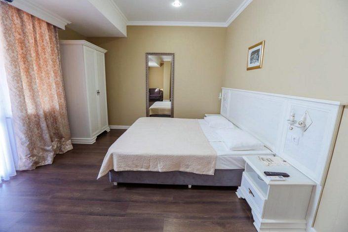 Улучшенный номер в Приморском корпусе отеля Абаата