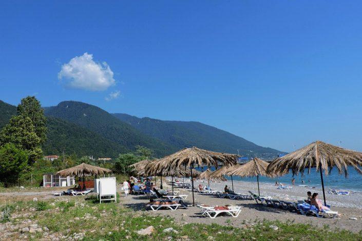 Пляж отеля Абаата