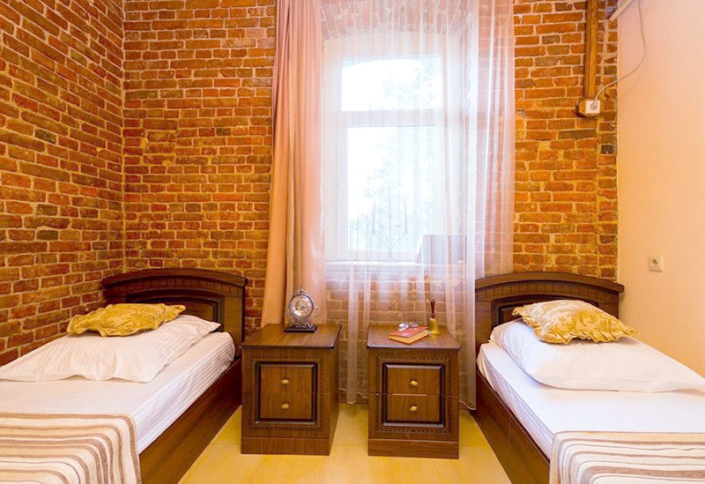 Стандартный двухместный номер гостиницы Абхазия