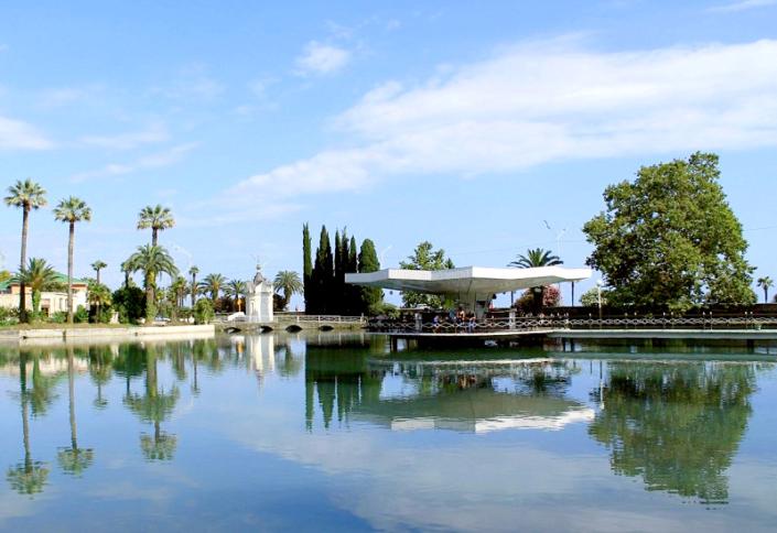 Приморский парк Нового Афона