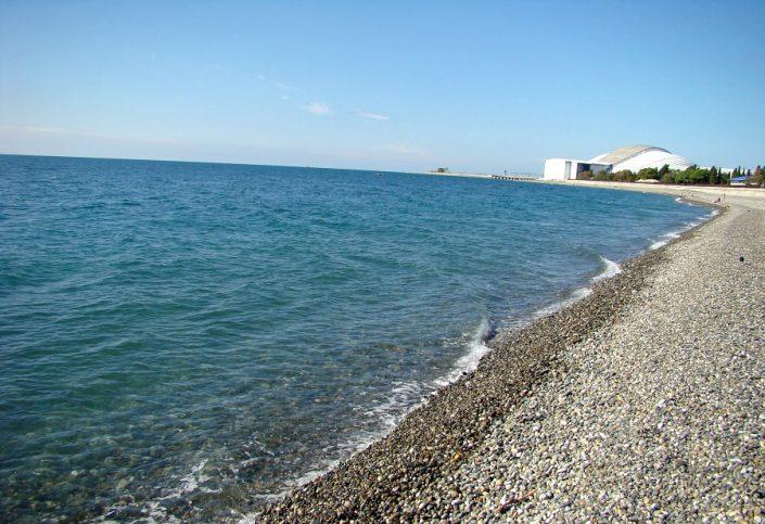Пляж Имеретинской бухты