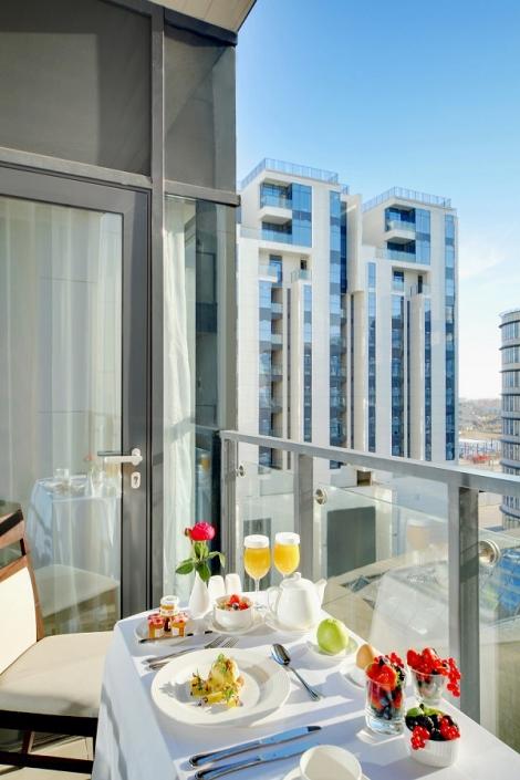 Балкон в номере Люкс Adler Hotel & Spa