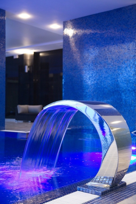 Бассейн в спа-комплексе Adler Hotel & Spa