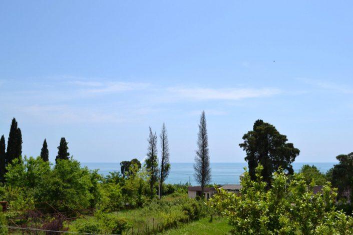 Вид на море с территории пансионата Афон Дакир