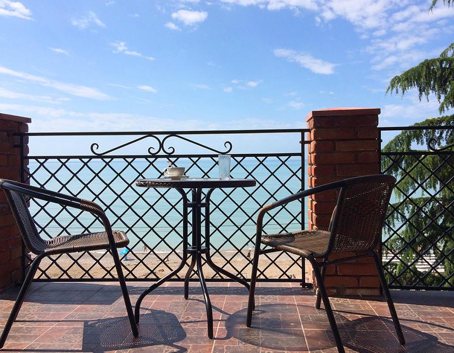 Терраса номера Люкс Afon Resort Hotel