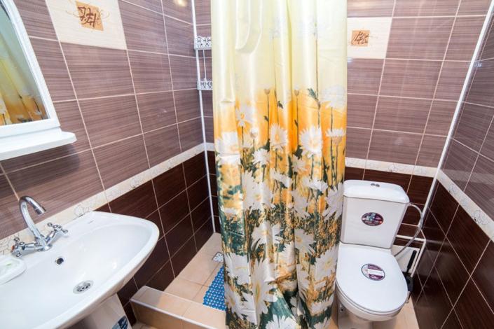 Туалетная комната Стандартного номера в пансионате Агата