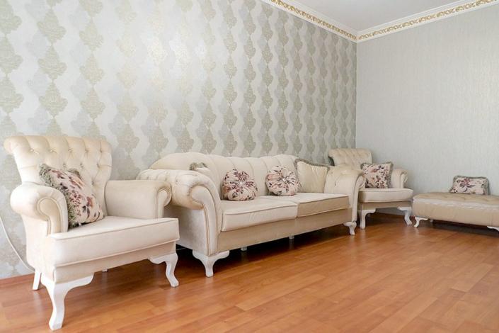 Гостиная в апартаментах гостевого дома Агудзера