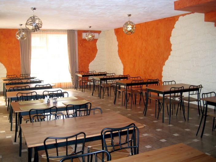 Кафе пансионата Аибга, Гагра, Абхазия
