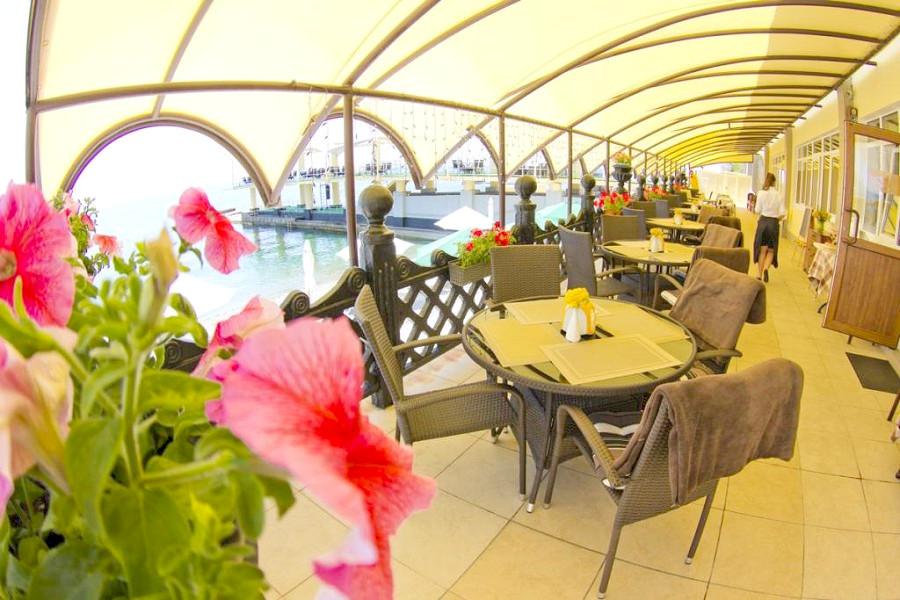 Ресторан Mishel санатория Ай-Даниль
