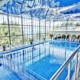 Крытые бассейны для взрослых и детей в спа-центре санатория Ай-Даниль
