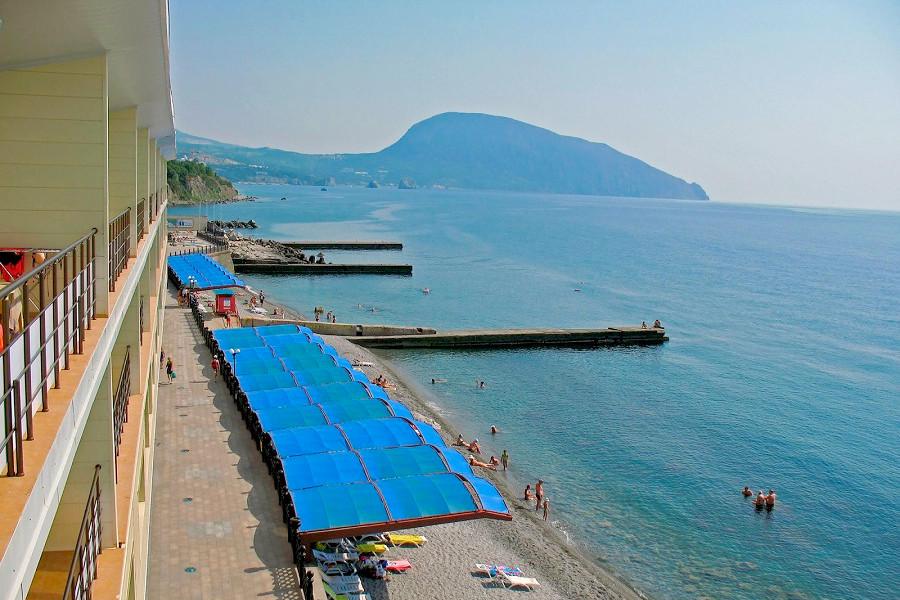Пляж санатория Ай-Даниль