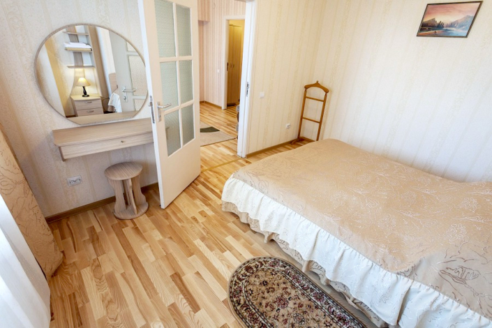 Люкс двухместный двухкомнатный в Корпусе 10 санатория Ай-Петри