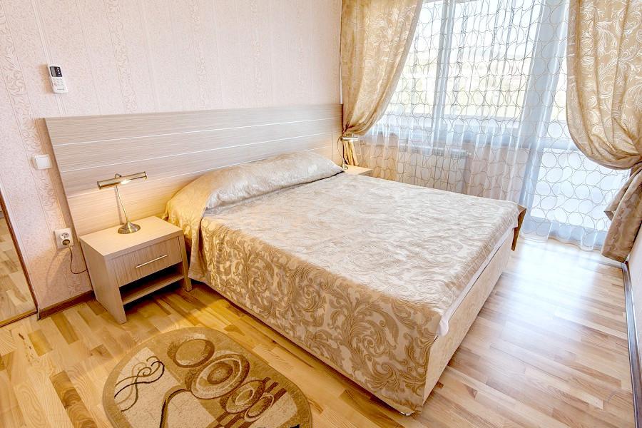 Люкс двухместный двухкомнатный в Корпусе 11 санатория Ай-Петри