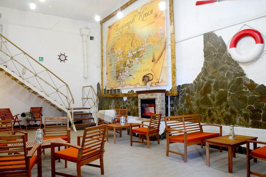 Холл Корпуса 1 санатория Ай-Петри