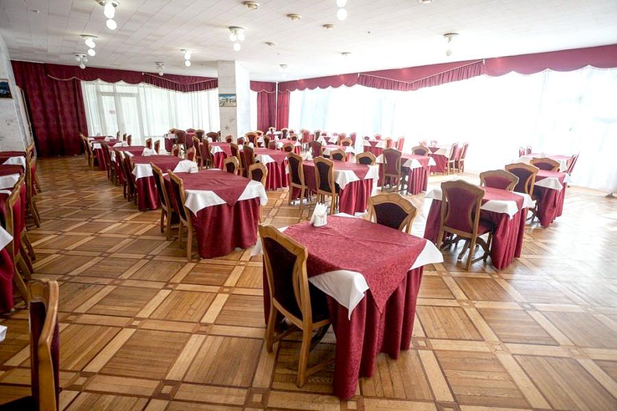 Обеденный зал санатория Ай-Петри