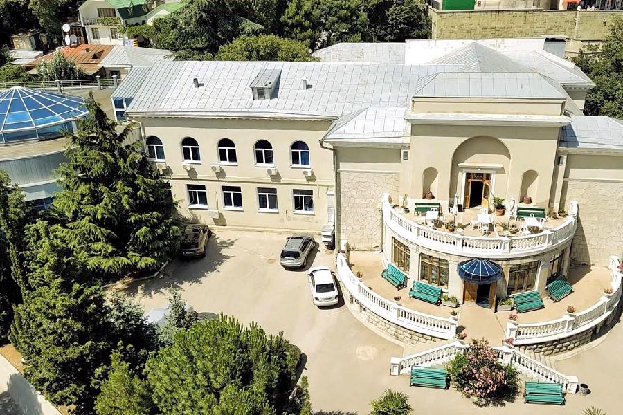 Лечебно-диагностический корпус санатория Ай-Петри