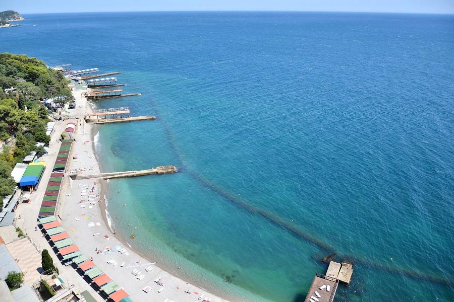 Пляж санатория Ай-Петри