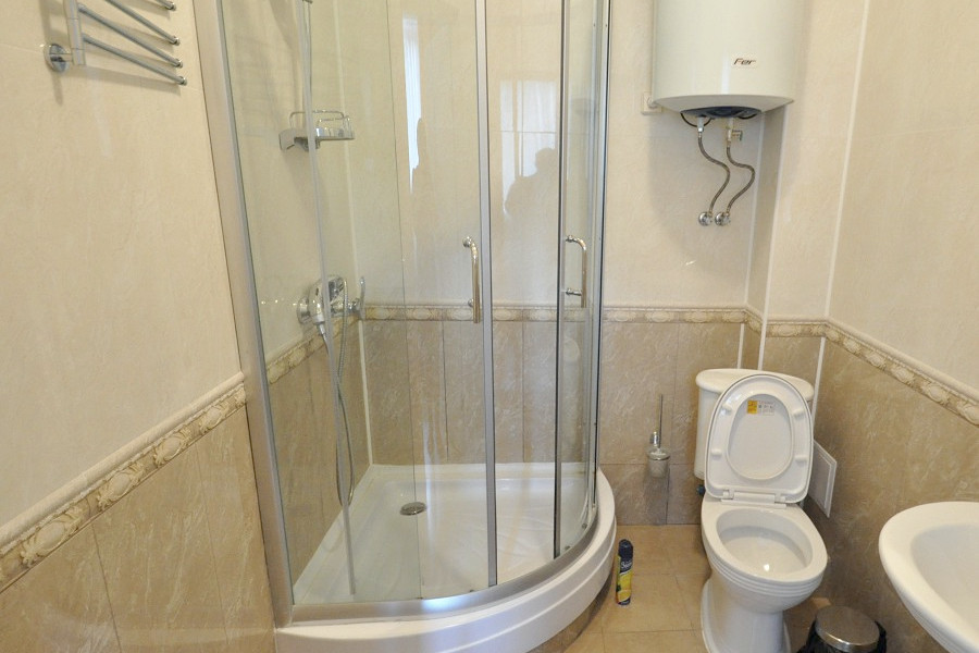 Туалетная комната номера Стандарт Бюджетный в Корпусе 2 отеля Ай-Тодор