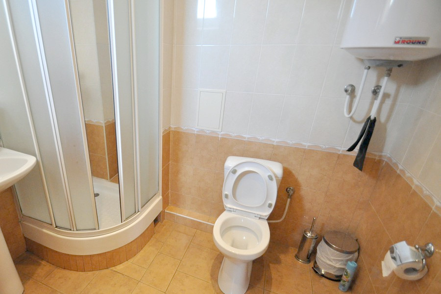 Туалетная комната номера Стандарт в Корпусе 1 отеля Ай-Тодор