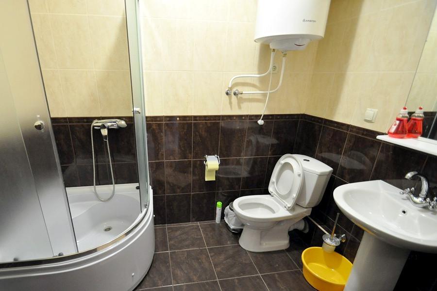 Туалетная комната номера Стандарт в Корпусе 3 отеля Ай-Тодор