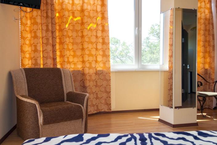 Люкс двухместный в Корпусе 4 отеля Ай-Тодор