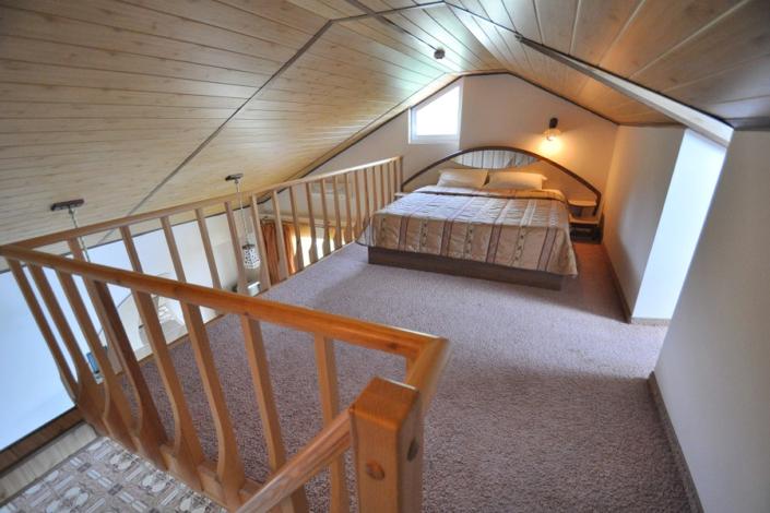 Люкс трехместный двухуровневый в Корпусе 1 отеля Ай-Тодор