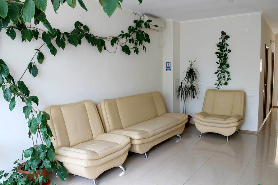 Холл пансионата Ай-Тодор-Юг