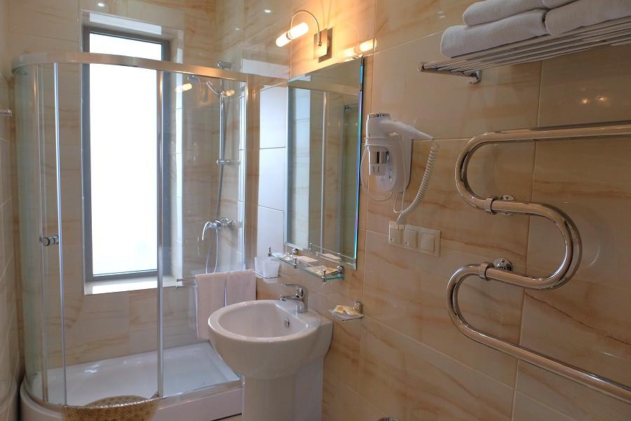 Туалетная комната номера Супериор санатория Актер, Сочи