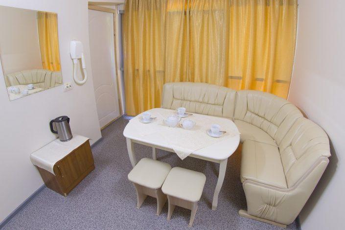 Комната отдыха в сауне санатория Актер, Сочи