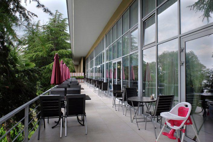Кафе санатория Актер, Сочи
