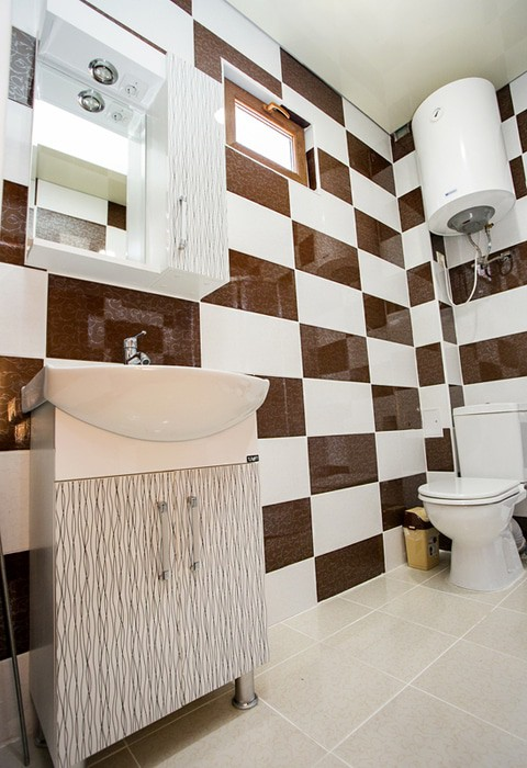 Туалетная комната номера Семейный двухместный Акуа Резорт Отель