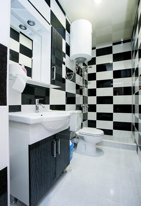 Туалетная комната номера Семейный Люкс двухместный Акуа Резорт Отель