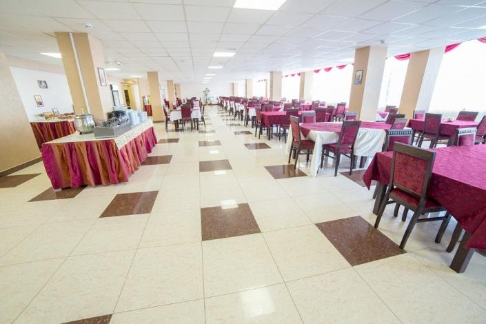 Ресторан в корпусе № 8 санатория АкваЛоо