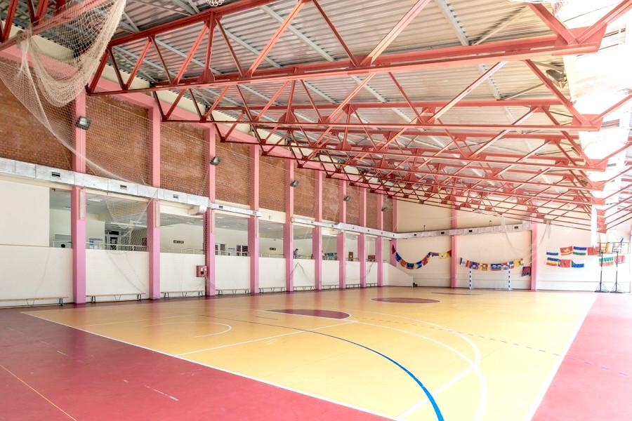 Спортивный зал в корпусе № 8 санатория АкваЛоо