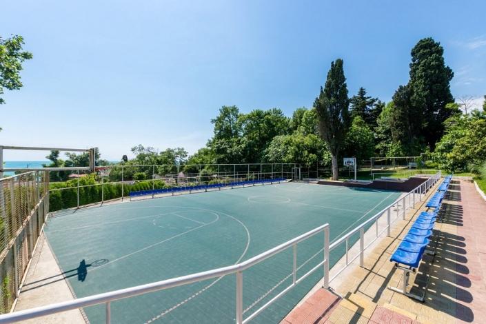 Спортивная площадка у корпуса № 8 санатория АкваЛоо