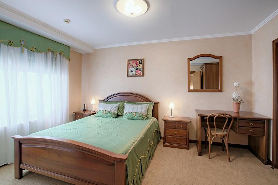 Апартаменты двухместные двухкомнатные санатория Аквамарин