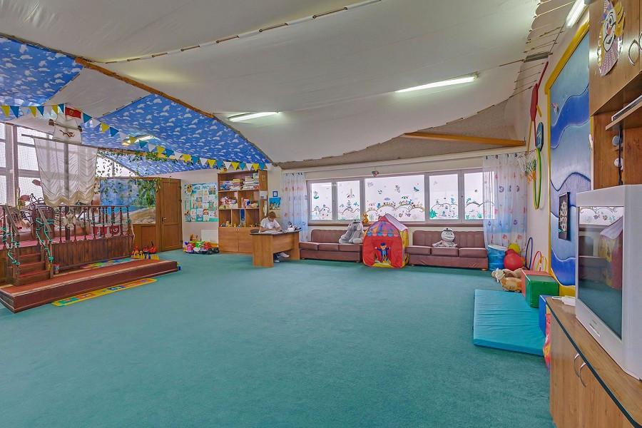 Детская комната санатория Аквамарин