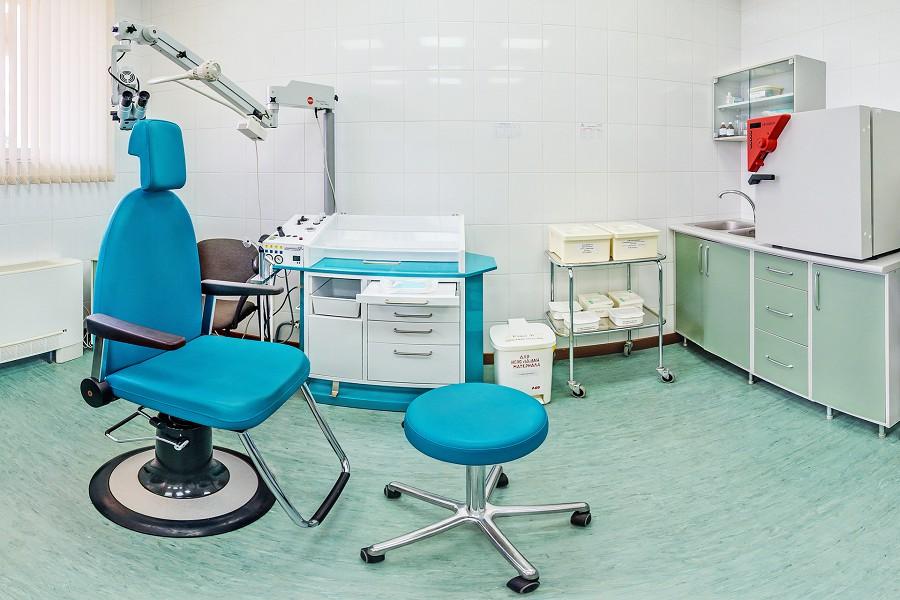 Медицинская часть санатория Аквамарин