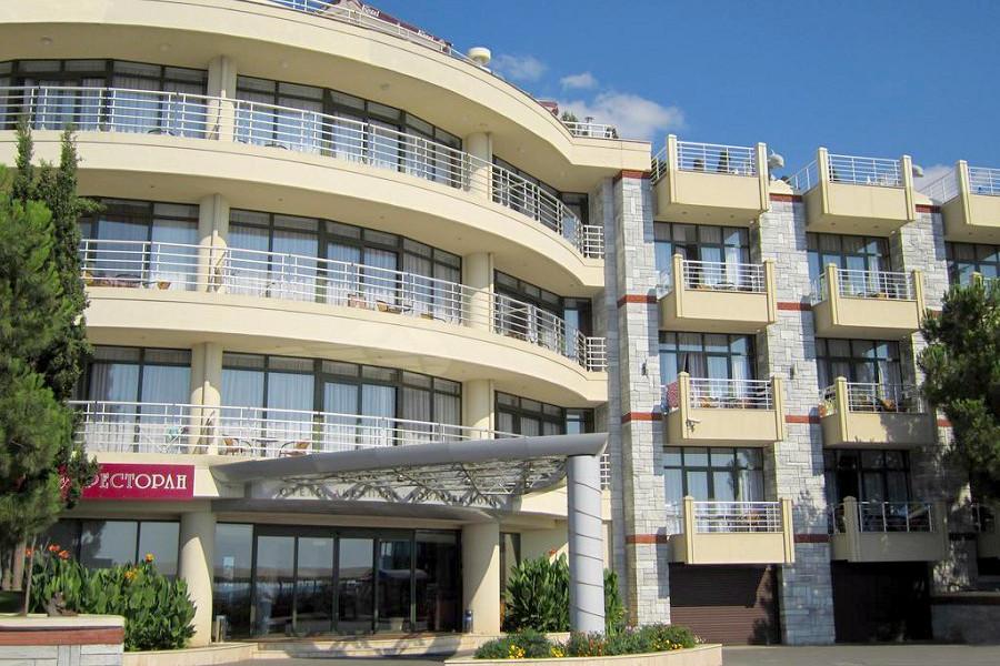 Отель Аквапарк, Алушта, Крым