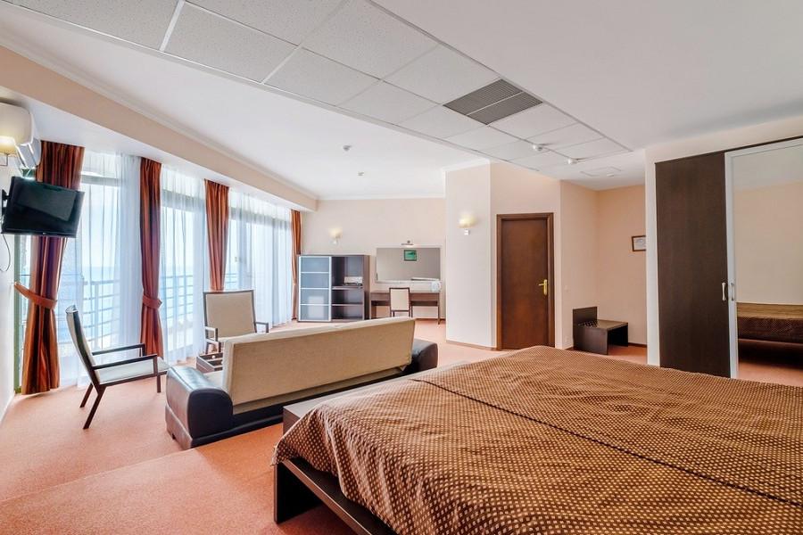 Студия-Полулюкс двухместная отеля Аквапарк