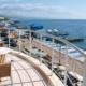 Балкон номера Студия-Полулюкс отеля Аквапарк