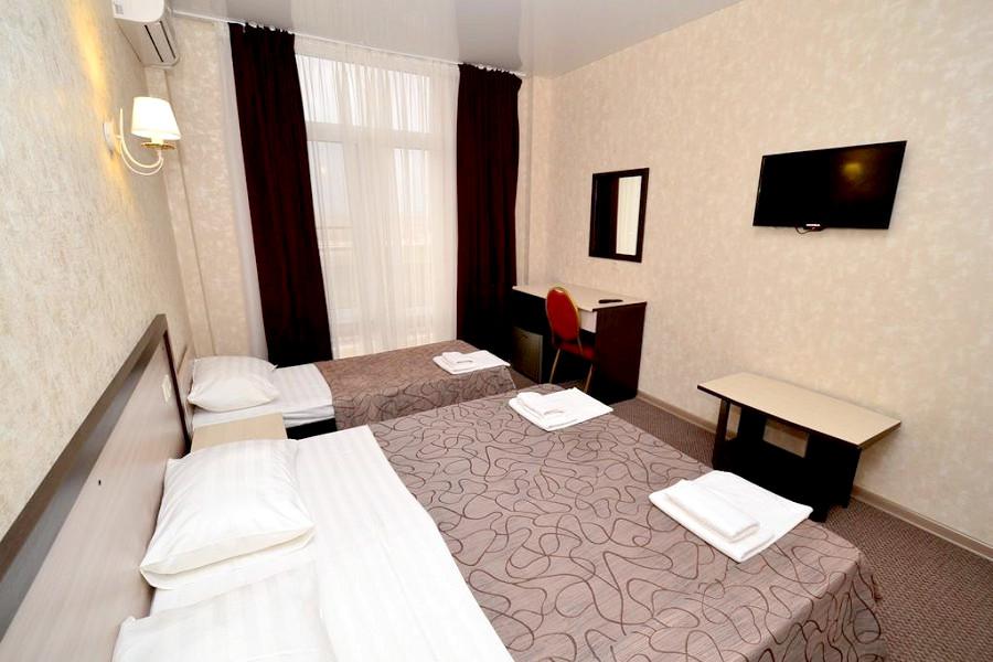Стандарт трехместный отеля Акварель Family