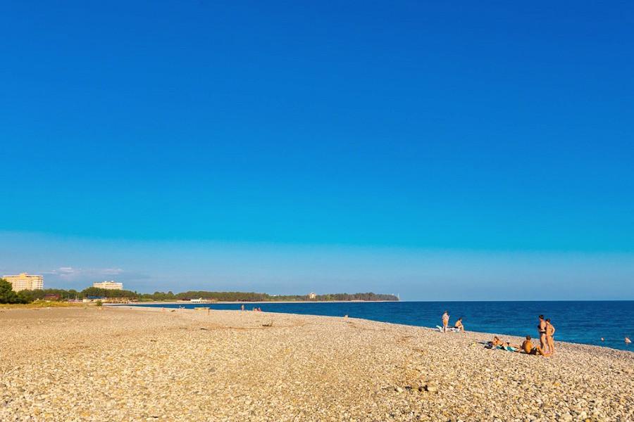 Пляж у отеля Al Mare