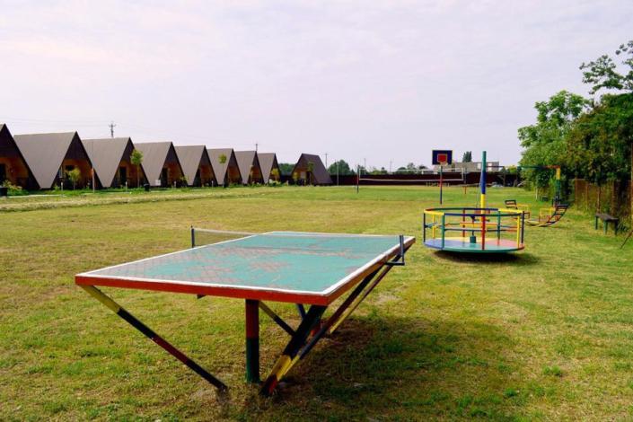 Игровая площадка коттеджного комплекса Алашара, Алахадзы, Пицунда, Абхазия