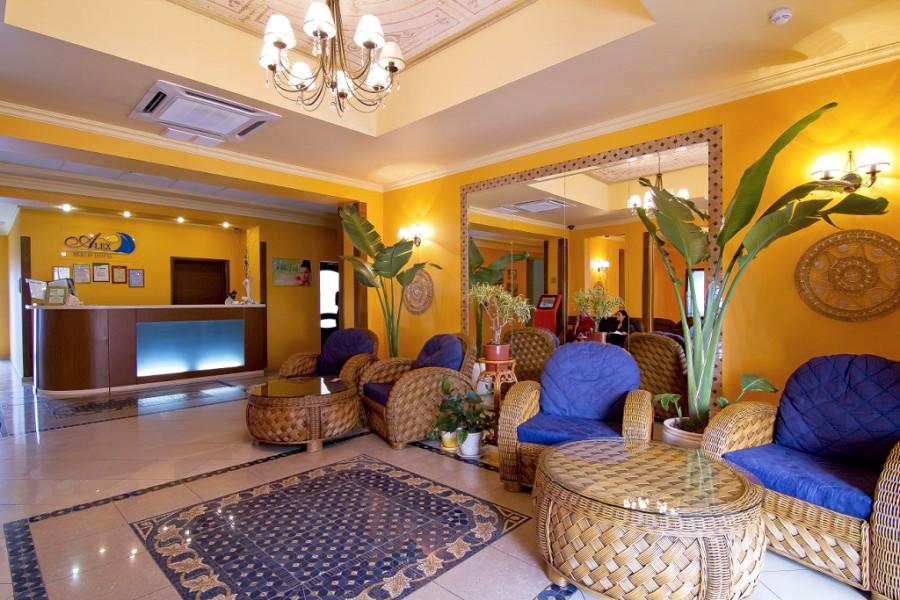 Холл Корпуса 1 Alex Resort & Spa Hotel