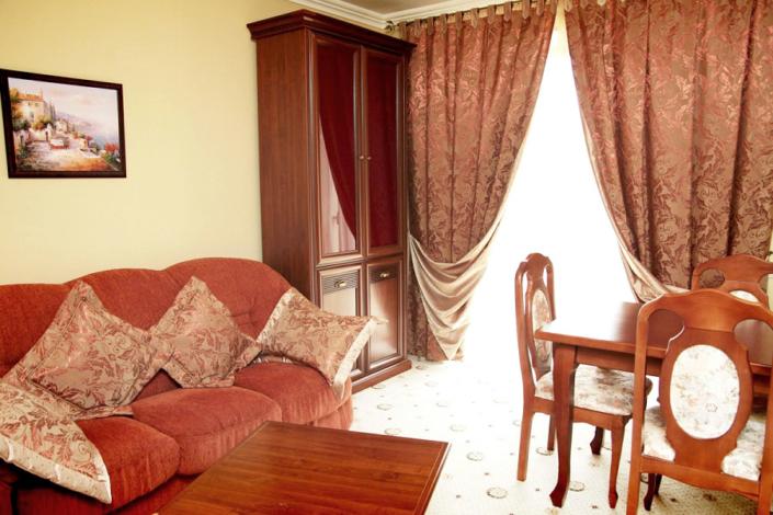 Делюкс Жемчуг двухместный двухкомнатный в Корпусе 1 Alex Resort & Spa Hotel